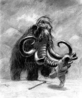 Woolly Mammoth by IanBaggley