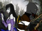 Soso and Zel - Back to Back by PyrotoHelimus
