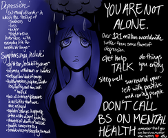 YOU ARE NOT ALONE by Rhoda-the-Echidna