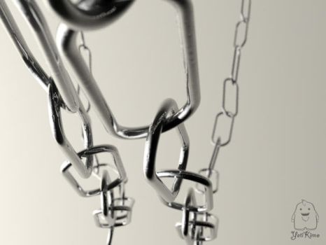 Hanging Chains by Kitns-Yeti