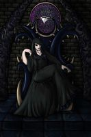 the Raven Queen by Cheesedemon88