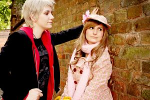 Hetalia: Prussia and Hungary by Amapolchen