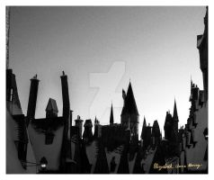 Hogwarts at Mid-Day by Lilith1985