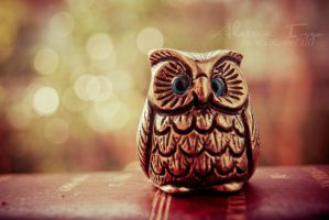 Little Lucky Owl by Alessia-Izzo