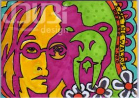 John Lennon and The Walrus by J-Dubi