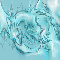 Frost Dragon by DokuPRODUCTIONS