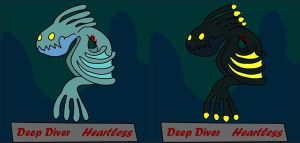 Deep Diver Heartless by Lakitubro101