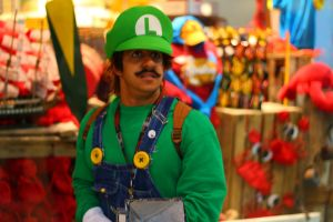 Anime Boston 2013 - Ghost Hunter Luigi by VideoGameStupid