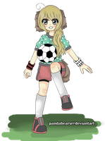 Let's play soccer! by PandaBearu