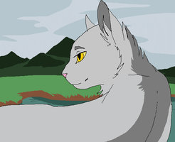 Graystripe animation by Wyethcat