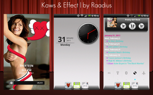 Kaws and Effect by Raadius