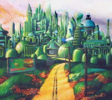 Emerald City by oxidizedmetal