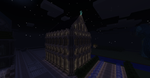minecraft ghotic church by kazibo