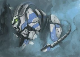 Robotic Lion by powerhouse-bg