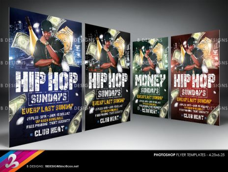 Hip Hop Party Flyer Template by AnotherBcreation