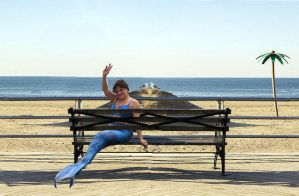 Waiting For MerFriends At Meetup Spot Coney Island by cookiebaby722