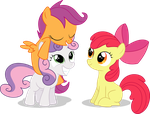 CMC BFF's Vector by Spaz-Featherbrain