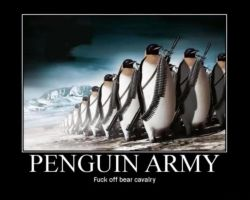 PENGUIN ARMY by MalevolentDeath