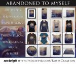 Abandoned to myself - Society6 Stuff by dreamswoman