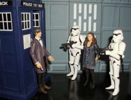 Doctor Who - Imperial Entanglements by CyberDrone