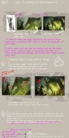 PAINTING TUTORIAL HOW TO MAKE IT LOOK GOOD by thatnickid