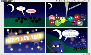 Circle City 68 - New Years Eve by simpleCOMICS