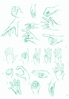 The 50 foot, 50 hand challenge: 20/50 hand by kaisaki1342
