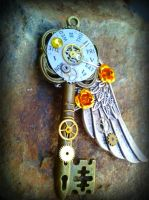 A Perfect Place in Time Fantasy Key by ArtByStarlaMoore