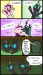 Cadence Chrysalis kiss explanation by HareTrinity