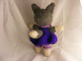 Auntie's Wolf - Back by CraftedKansas