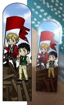 Les Miserables Bookmark Commission by Momiji95