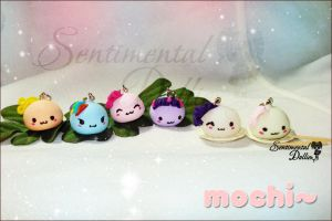 Kawaii My Little Pony Mochi Mochi by SentimentalDolliez