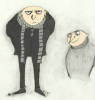 Despicable Me - Gru 2 by DecemberTwilight