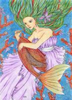 Little mermaid by CathM by Realm-of-Fantasy