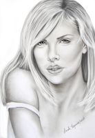 Charlize Theron by leidanogueira