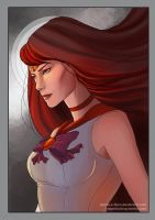 Sailor Mars by riordan-j-flynn