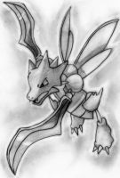 pokemon (scyther) by deathlouis