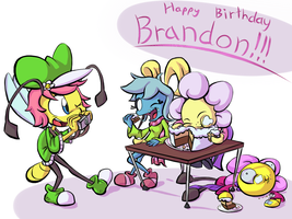 Brandon Gift Art by SuperCleaveLand64
