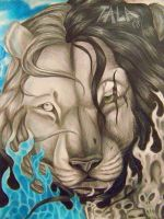 lion of realms by Talaanita