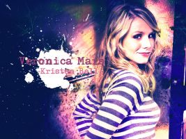 Kristen Bell Wallpaper by XMyHeroiNe