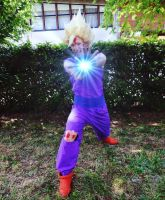 Gohan Kamehameha Cosplay by Sny89