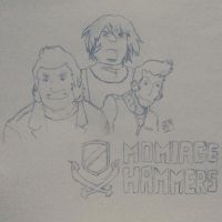 Momiage Hammers  by Aliffmo