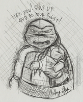 Raph's way to support by Angi-Shy
