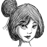 Mulan Doodle by MizzXD