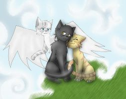 Graystripe's Love by Meww-Yum
