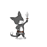 Knight Cat by M03PS