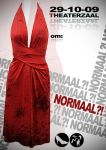 """Normaal"" theatre poster. by WillemWorks"