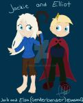 Jack and Elsa - Genderbender by peblezQ