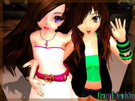 MMD-Crazy friendship by TaniaVocaloid