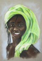 The African Lady by Altayr